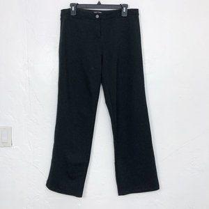 Eileen Fisher Ponte Knit Wide Leg Pants in Black